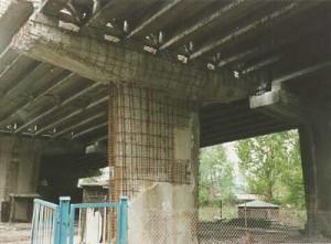 Дефекты железобетонных и каменных пролетных строений мостов.