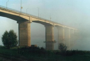 Мост, соединяющий три населенных пункта, построен в Свердловской области