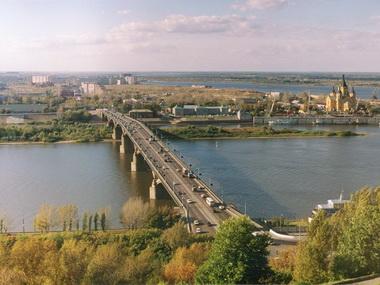 Мост в Нижнем Новгороде.