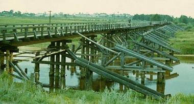 Мост через Пру.
